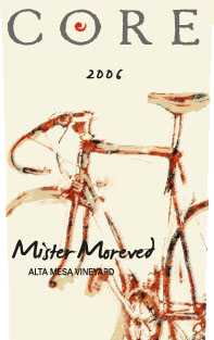 Core Wine Company Mr. Moreved label image