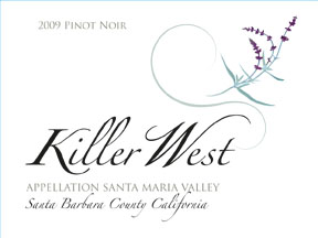Killer West 2009 Pinot Noir label image
