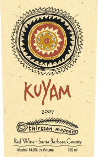 Kuyam 13 Moons label image
